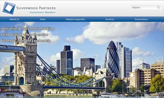 Custom Joomla Website for Investment Bankers in USA