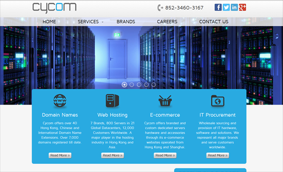 Website for IT-Service providers in Hong Kong