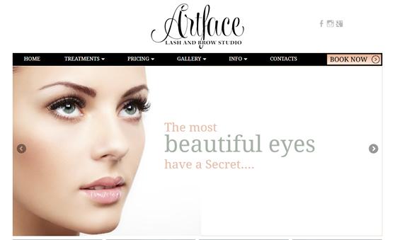 Affordable Web Design For Makeup Business