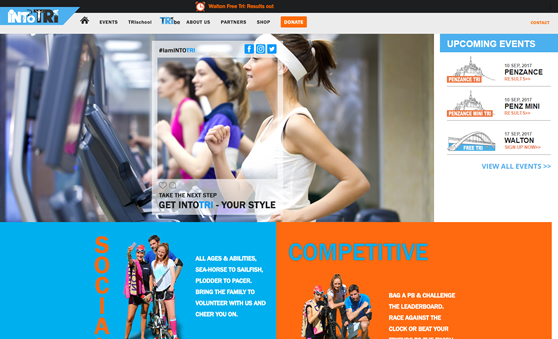 Custom Web Development For Sports Business