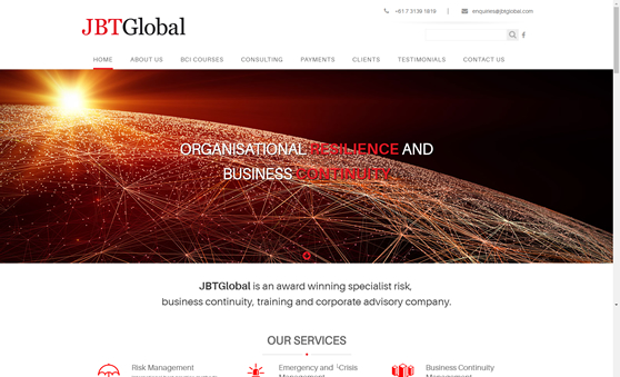Professional Website Design For Corporate Advisory Business
