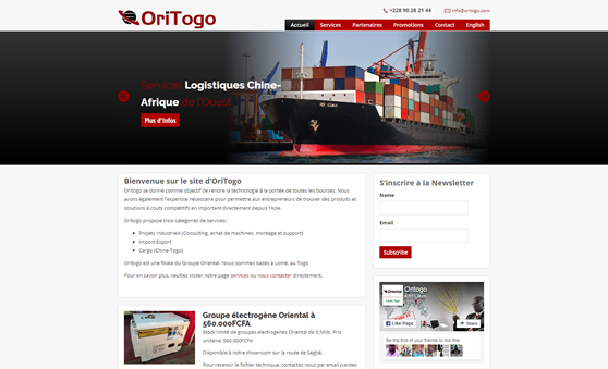 Website Maintenance Company For Import Export Business